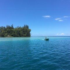 Отель Motu Mapeti - Tahiti Private Island пляж