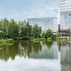 Отель NH Collection Köln Mediapark Германия, Кёльн - 3 отзыва об отеле, цены и фото номеров - забронировать отель NH Collection Köln Mediapark онлайн приотельная территория фото 2