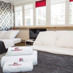 Отель Hosapartments City Center Польша, Варшава - 2 отзыва об отеле, цены и фото номеров - забронировать отель Hosapartments City Center онлайн комната для гостей фото 23