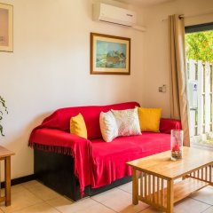 Отель Moemoea Lodge Французская Полинезия, Бора-Бора - отзывы, цены и фото номеров - забронировать отель Moemoea Lodge онлайн комната для гостей фото 2