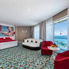 Vikingen Infinity Resort&Spa Турция, Аланья - 2 отзыва об отеле, цены и фото номеров - забронировать отель Vikingen Infinity Resort&Spa онлайн комната для гостей фото 3