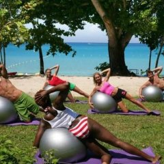 Отель Sunset at the Palms Resort - Adults Only - All Inclusive фитнесс-зал фото 4