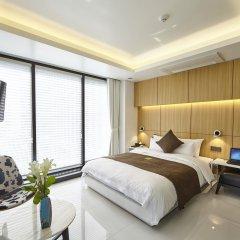 Отель Soulhada Южная Корея, Сеул - отзывы, цены и фото номеров - забронировать отель Soulhada онлайн комната для гостей фото 4