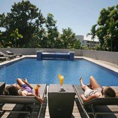 Отель Tahiti Nui Французская Полинезия, Папеэте - отзывы, цены и фото номеров - забронировать отель Tahiti Nui онлайн бассейн фото 3
