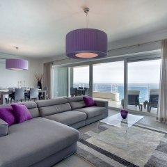 Отель Pure Luxury Apartment With Pool Мальта, Слима - отзывы, цены и фото номеров - забронировать отель Pure Luxury Apartment With Pool онлайн комната для гостей фото 3