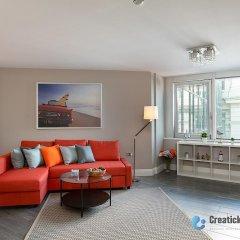 Апартаменты Green Diamond by Creatick Apartments комната для гостей фото 4