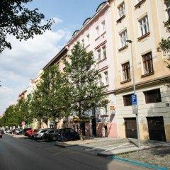 Отель City Castle Aparthotel Прага парковка