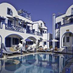Отель Roula Villa Греция, Остров Санторини - отзывы, цены и фото номеров - забронировать отель Roula Villa онлайн бассейн фото 3