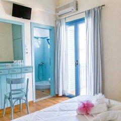 Отель Saronis Hotel Греция, Агистри - отзывы, цены и фото номеров - забронировать отель Saronis Hotel онлайн комната для гостей фото 5