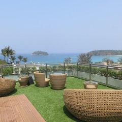Отель Sugar Palm Grand Hillside пляж