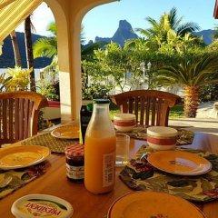Отель Villa Oramarama - Moorea Французская Полинезия, Папеэте - отзывы, цены и фото номеров - забронировать отель Villa Oramarama - Moorea онлайн питание фото 3