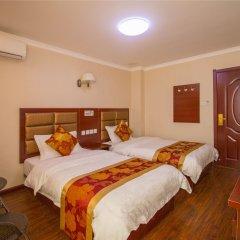 Отель Hongye Hotel Xi'an Xianyang Airport Китай, Сяньян - отзывы, цены и фото номеров - забронировать отель Hongye Hotel Xi'an Xianyang Airport онлайн комната для гостей фото 3
