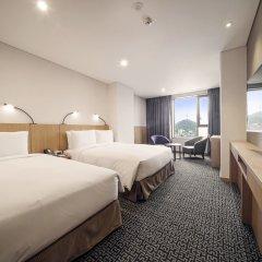 Отель Tmark Grand hotel Myeongdong Южная Корея, Сеул - отзывы, цены и фото номеров - забронировать отель Tmark Grand hotel Myeongdong онлайн комната для гостей фото 2
