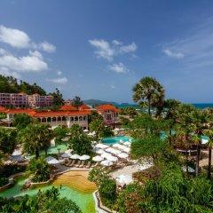 Отель Centara Grand Beach Resort Phuket Таиланд, Карон-Бич - 5 отзывов об отеле, цены и фото номеров - забронировать отель Centara Grand Beach Resort Phuket онлайн бассейн фото 3