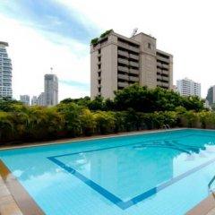 Апартаменты Orchid View Apartment Бангкок бассейн