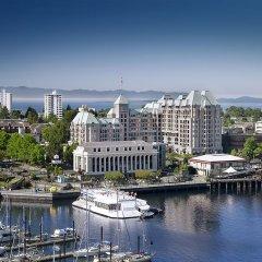 Отель Grand Pacific Канада, Виктория - отзывы, цены и фото номеров - забронировать отель Grand Pacific онлайн приотельная территория