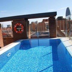 Отель Catalonia Albeniz Барселона бассейн фото 3