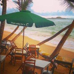Отель Mamas Coral Beach пляж