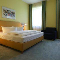 Отель IntercityHotel Düsseldorf комната для гостей