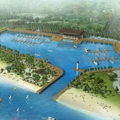 Отель Shenzhen Marina Club Шэньчжэнь приотельная территория фото 2