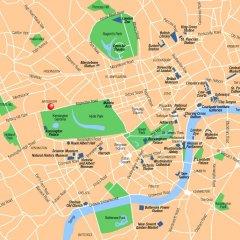 Отель Thistle Kensington Gardens Великобритания, Лондон - отзывы, цены и фото номеров - забронировать отель Thistle Kensington Gardens онлайн городской автобус