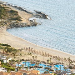 Отель Grecotel Olympia Oasis & Aqua Park Греция, Андравида-Киллини - отзывы, цены и фото номеров - забронировать отель Grecotel Olympia Oasis & Aqua Park онлайн пляж