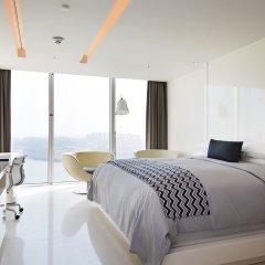 Отель W Seoul Walkerhill Южная Корея, Сеул - отзывы, цены и фото номеров - забронировать отель W Seoul Walkerhill онлайн комната для гостей фото 2