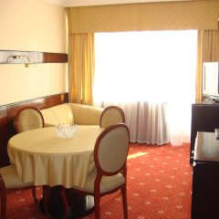 Отель Отрар Алматы комната для гостей фото 5
