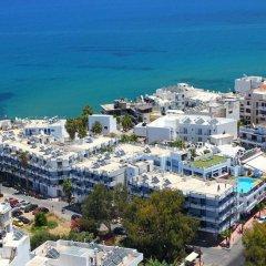 Kassavetis Hotel Aparts пляж