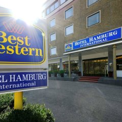 Отель Best Western Hamburg International Гамбург вид на фасад
