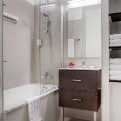 Отель Citadines Sainte-Catherine Brussels Бельгия, Брюссель - отзывы, цены и фото номеров - забронировать отель Citadines Sainte-Catherine Brussels онлайн ванная фото 2