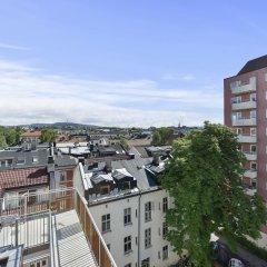 Апартаменты Forenom Serviced Apartments Oslo Majorstuen балкон