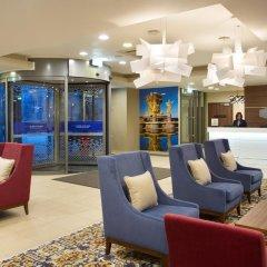 Гостиница Hampton by Hilton Moscow Strogino (Хэмптон бай Хилтон) интерьер отеля