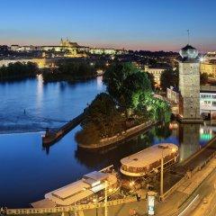 Dancing House Hotel Прага приотельная территория