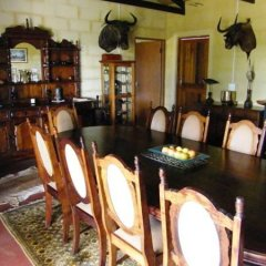 Отель Kudu Ridge Game Ranch Guest House питание