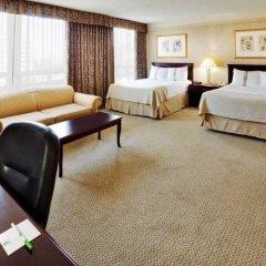 Отель Holiday Inn & Suites Downtown Ottawa Канада, Оттава - отзывы, цены и фото номеров - забронировать отель Holiday Inn & Suites Downtown Ottawa онлайн комната для гостей фото 4