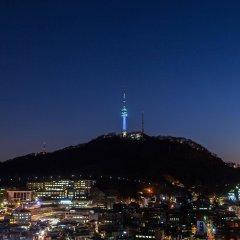 Отель Loisir Hotel Seoul Myeongdong Южная Корея, Сеул - 3 отзыва об отеле, цены и фото номеров - забронировать отель Loisir Hotel Seoul Myeongdong онлайн балкон