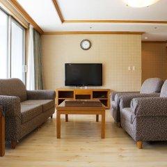 Отель Welli Hilli Park Южная Корея, Пхёнчан - отзывы, цены и фото номеров - забронировать отель Welli Hilli Park онлайн комната для гостей фото 4