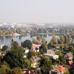 Отель NH Danube City Австрия, Вена - отзывы, цены и фото номеров - забронировать отель NH Danube City онлайн приотельная территория