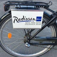 Отель Radisson Blu Royal Park Солна спортивное сооружение