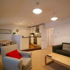 Апартаменты Gower Street Apartments Лондон комната для гостей фото 2
