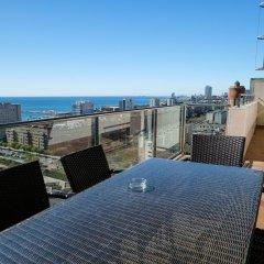 Отель Rent Top Apartments Beach-Diagonal Mar Испания, Барселона - отзывы, цены и фото номеров - забронировать отель Rent Top Apartments Beach-Diagonal Mar онлайн пляж фото 2