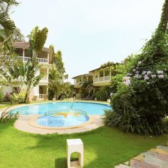 Отель GuestHouser 3 BHK Villa 338d Гоа бассейн
