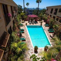 Отель Best Western PLUS Sunset Plaza США, Уэст-Голливуд - отзывы, цены и фото номеров - забронировать отель Best Western PLUS Sunset Plaza онлайн балкон