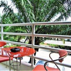 Отель View Talay 2 - 1 bed Jomtien Паттайя балкон