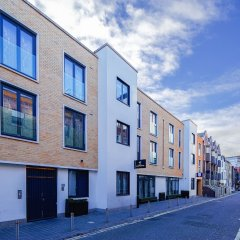 Апартаменты Cheval Knightsbridge Apartments Лондон вид на фасад