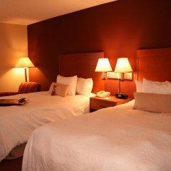 Отель Hampton Inn Newark Airport США, Элизабет - отзывы, цены и фото номеров - забронировать отель Hampton Inn Newark Airport онлайн комната для гостей фото 3