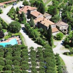 Отель Elegant Farmhouse in Campriano With Swimming Pool Ареццо бассейн