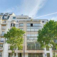 Отель Villa Luxembourg Франция, Париж - 11 отзывов об отеле, цены и фото номеров - забронировать отель Villa Luxembourg онлайн балкон