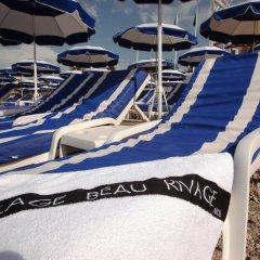 Отель Beau Rivage Франция, Ницца - 3 отзыва об отеле, цены и фото номеров - забронировать отель Beau Rivage онлайн пляж